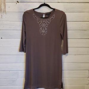Banana republic taupe (brown) dress